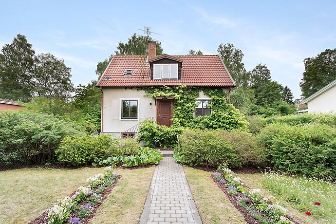 Anläggning Trädgård Solna